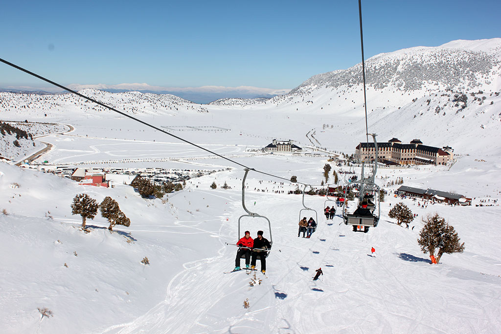 Davraz Mountain Winter Sports Tourism Center